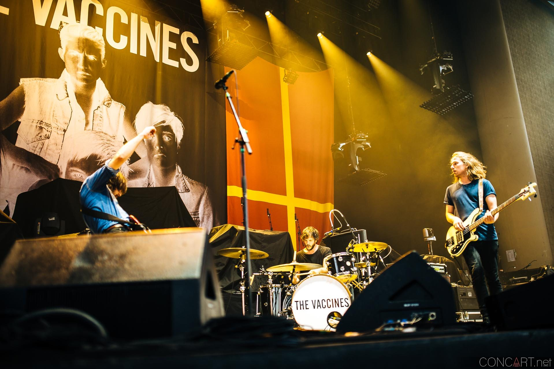 The Vaccines photo by Sean Molin