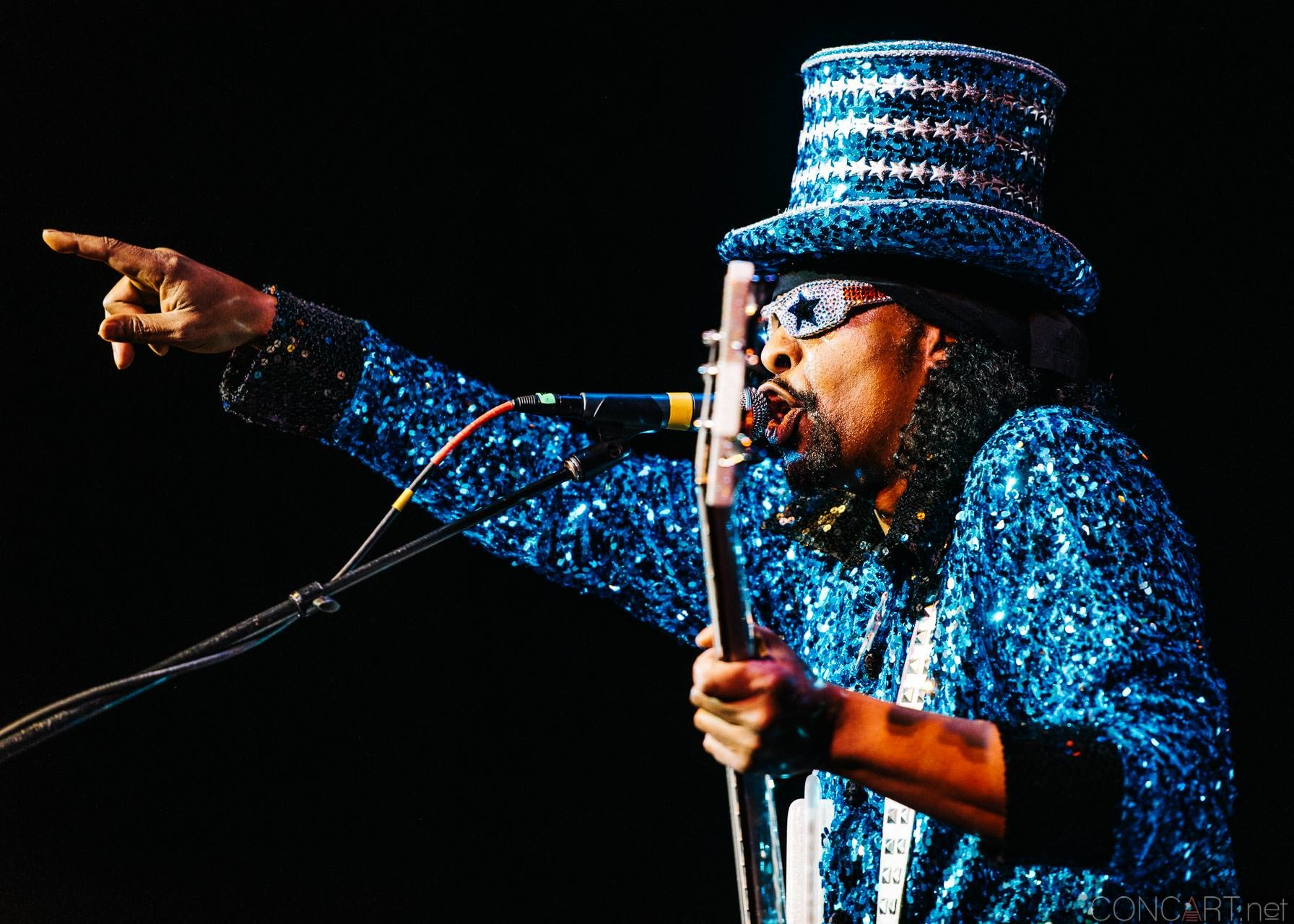Bootsy Collins photo by Sean Molin 17