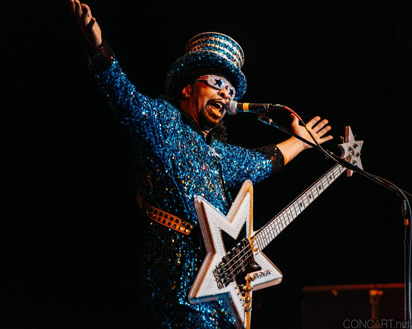 Bootsy Collins photo by Sean Molin 34
