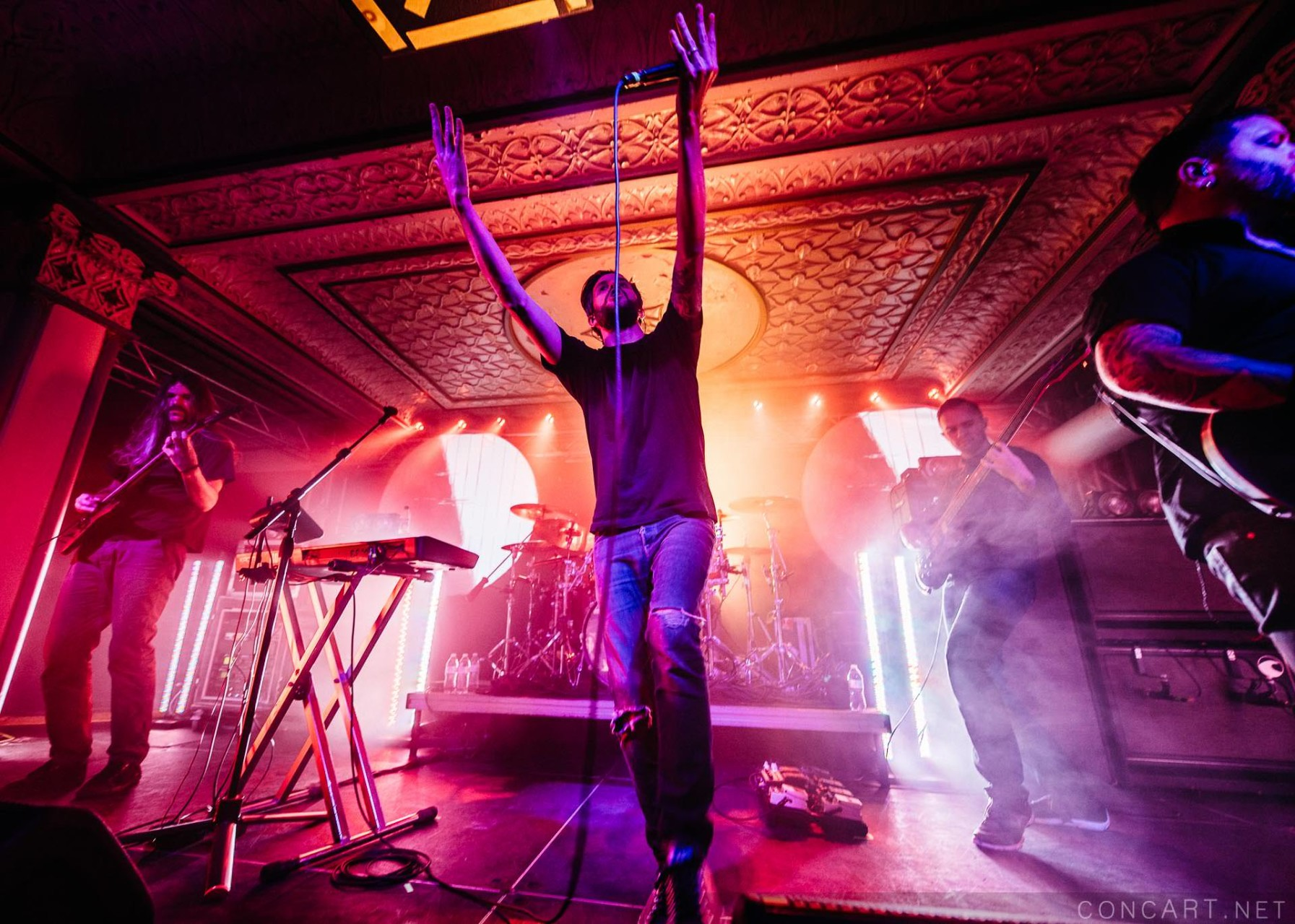 Between The Buried And Me photo by Sean Molin 2