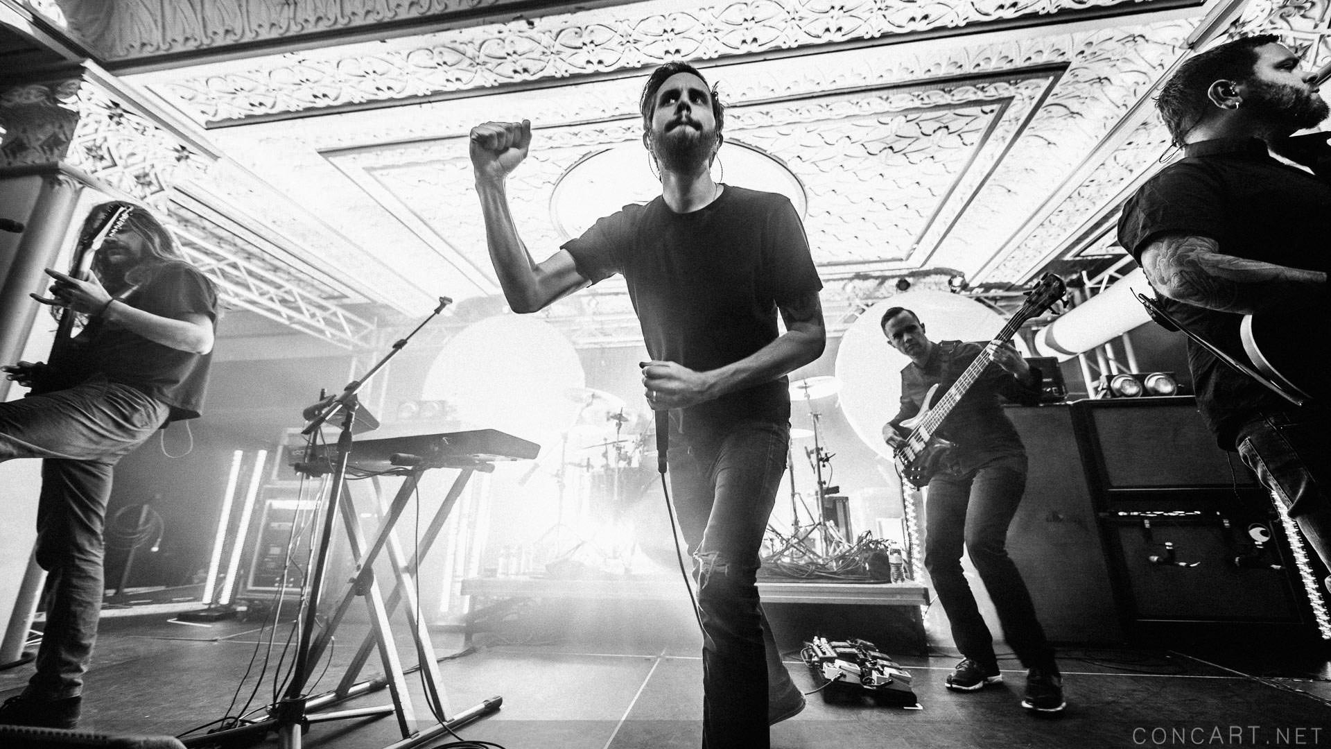 Between The Buried And Me photo by Sean Molin 8