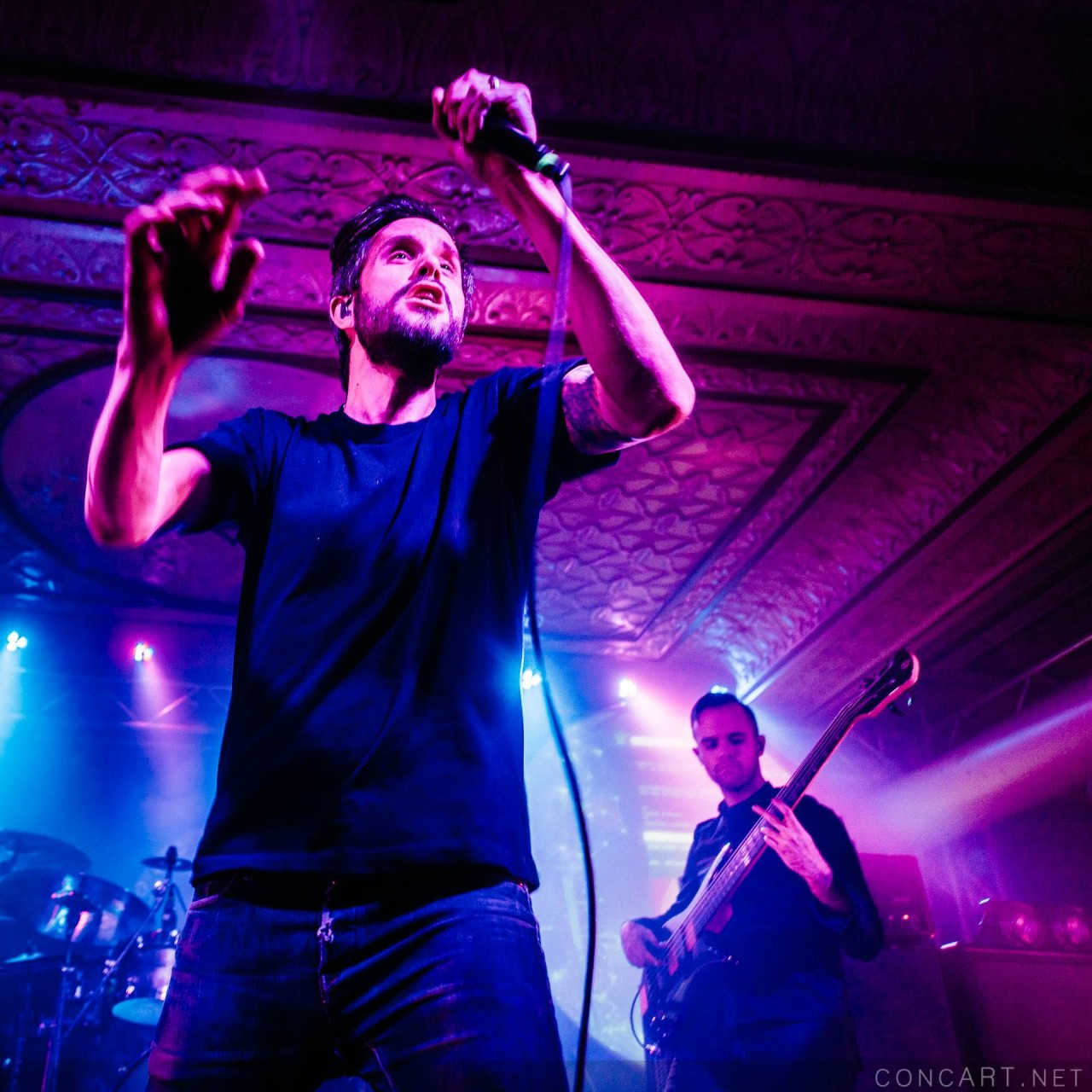 Between The Buried And Me photo by Sean Molin 16