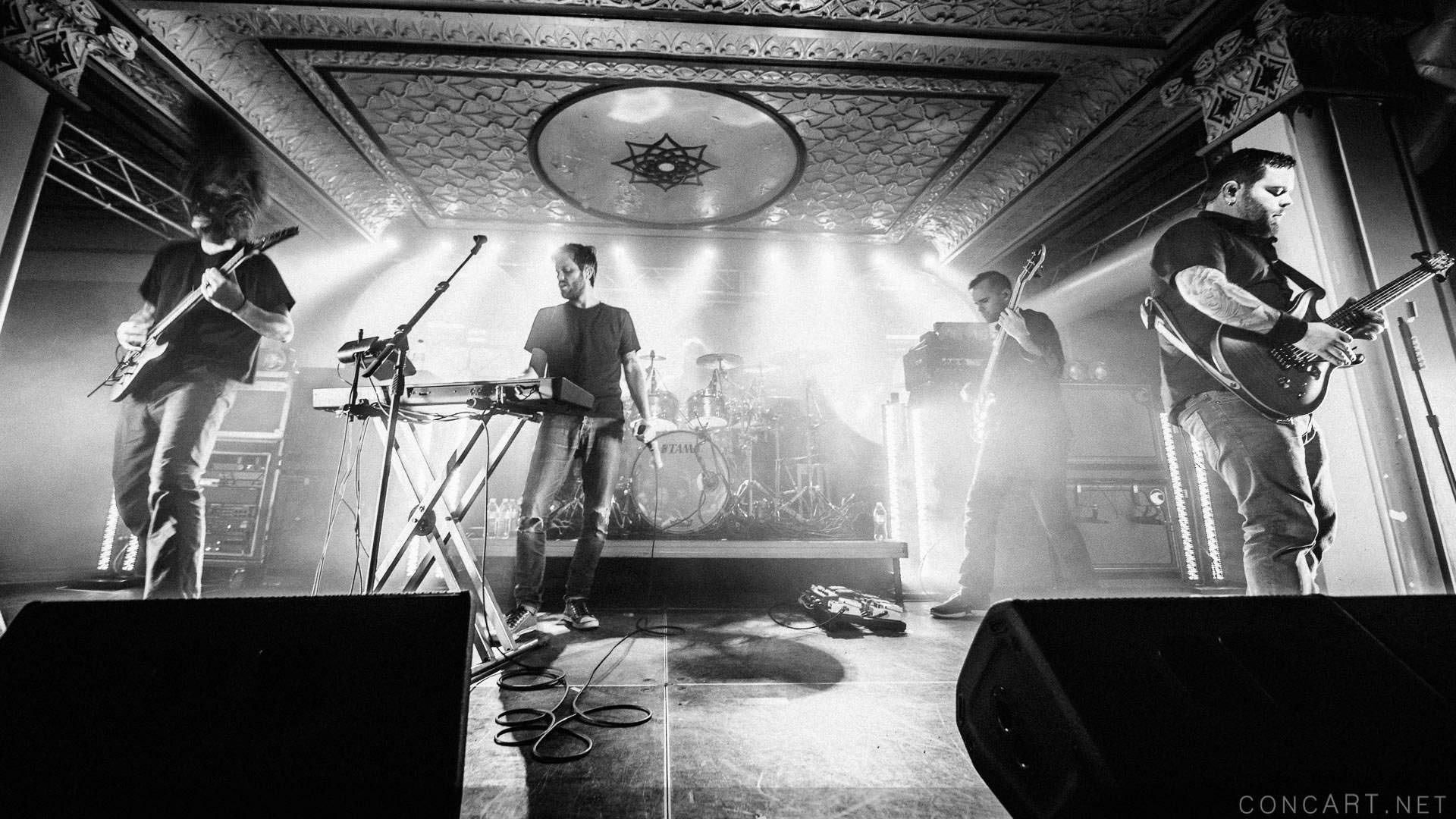 Between The Buried And Me photo by Sean Molin 44