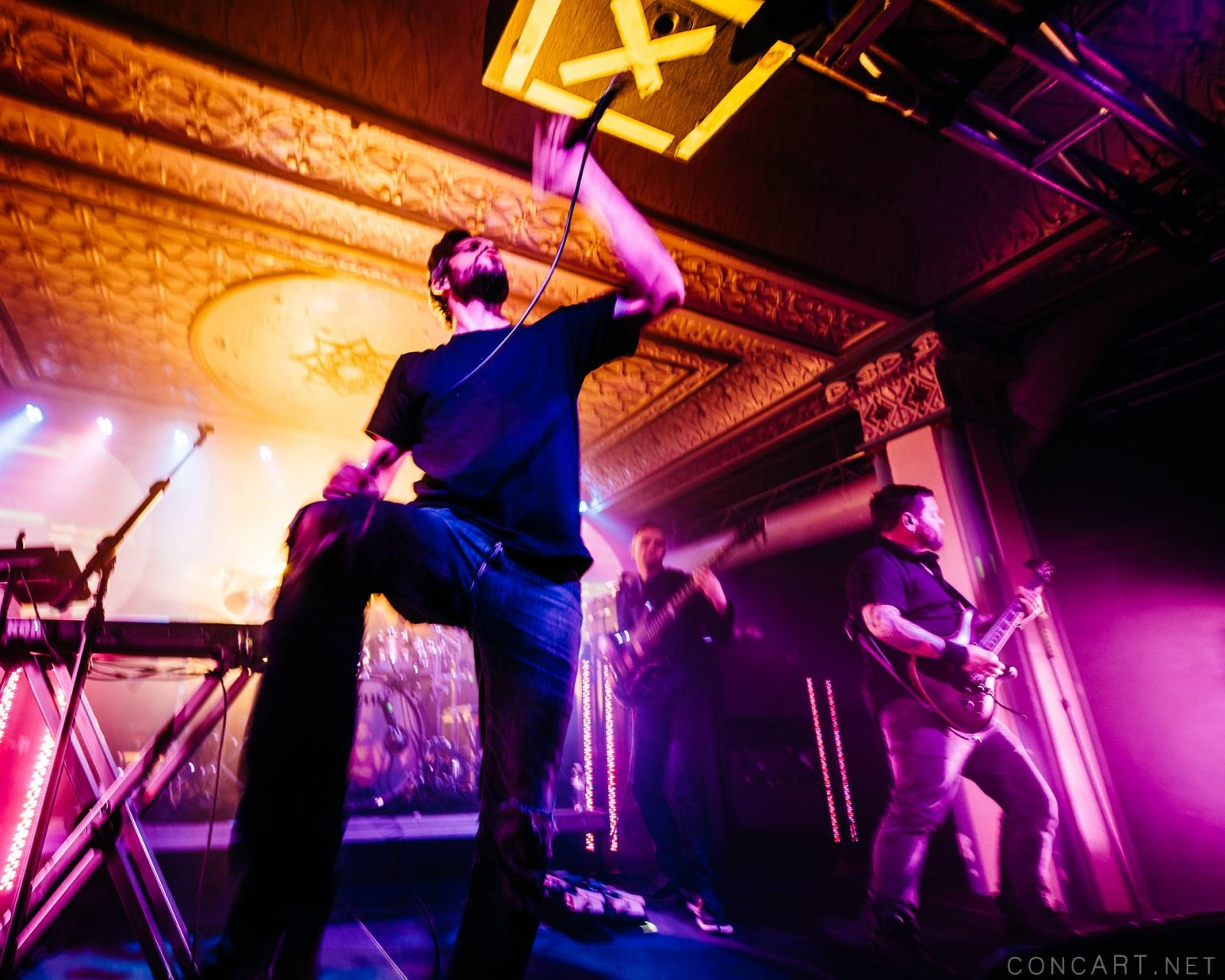 Between The Buried And Me photo by Sean Molin 45