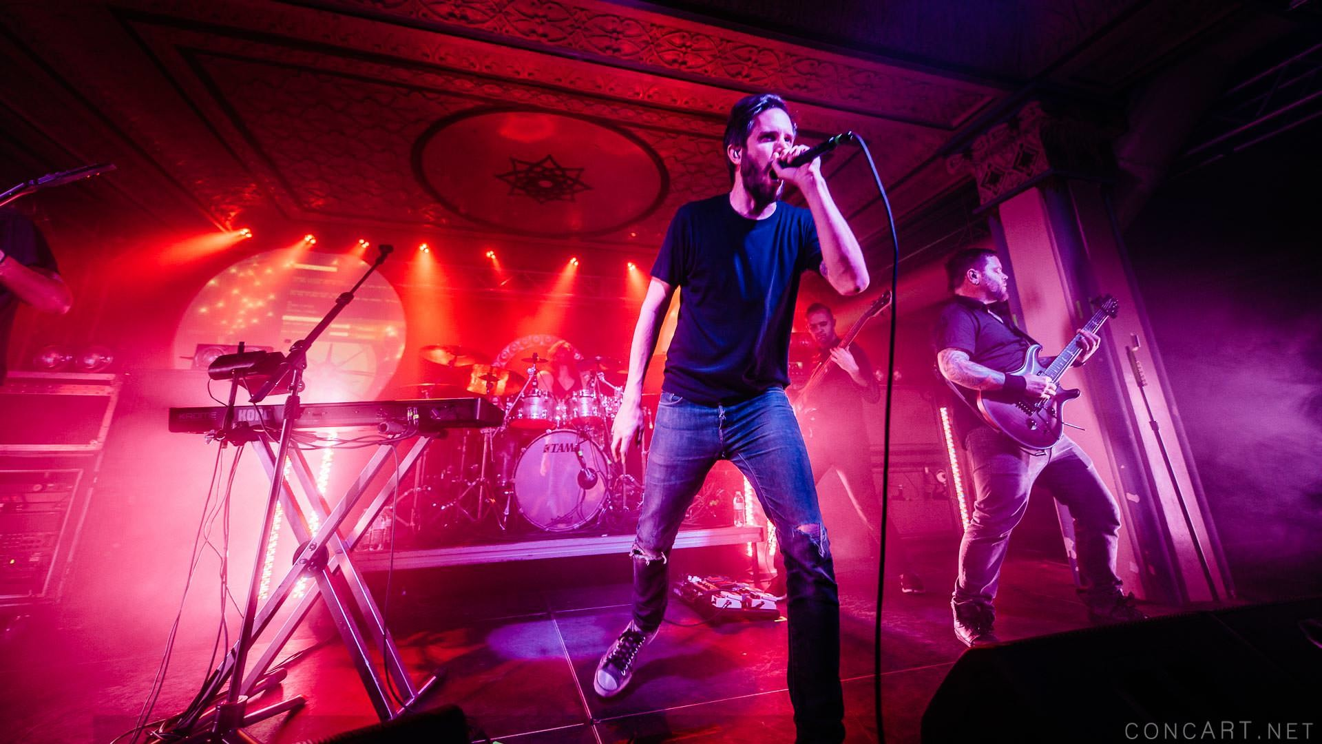 Between The Buried And Me photo by Sean Molin 49