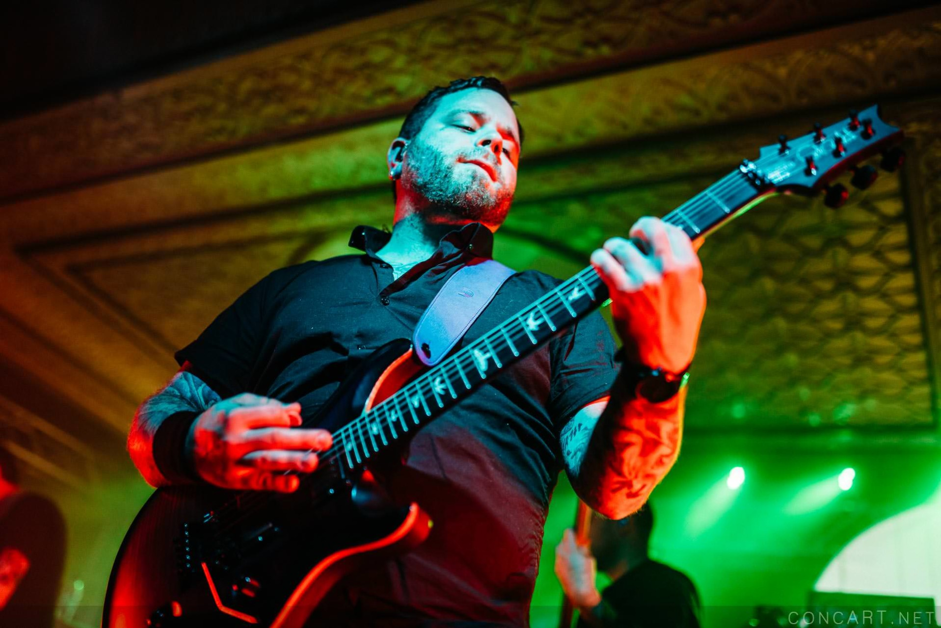 Between The Buried And Me photo by Sean Molin 55