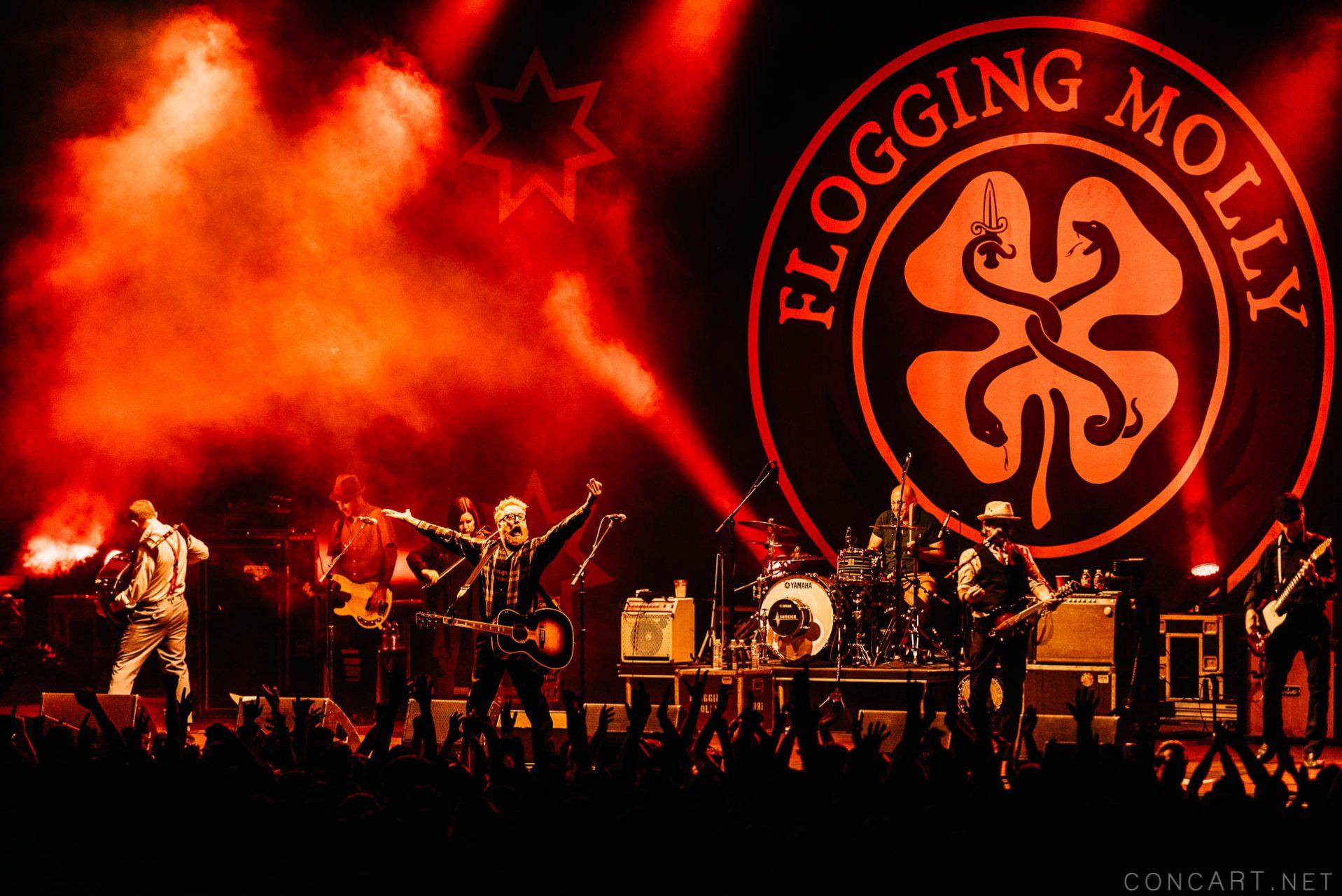 Flogging Molly photo by Sean Molin 2