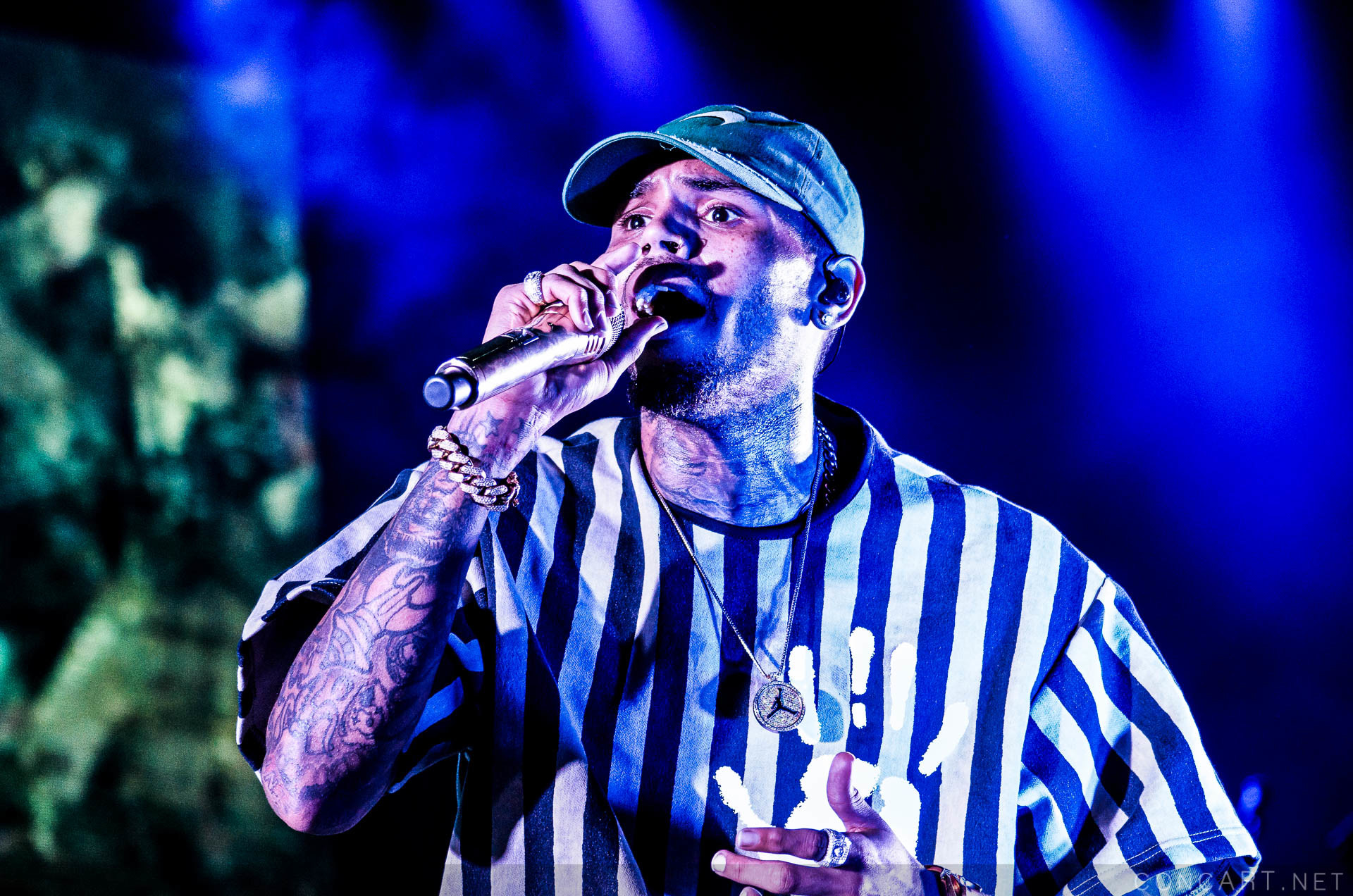 Chris Brown photo by Ashley Adcox 3