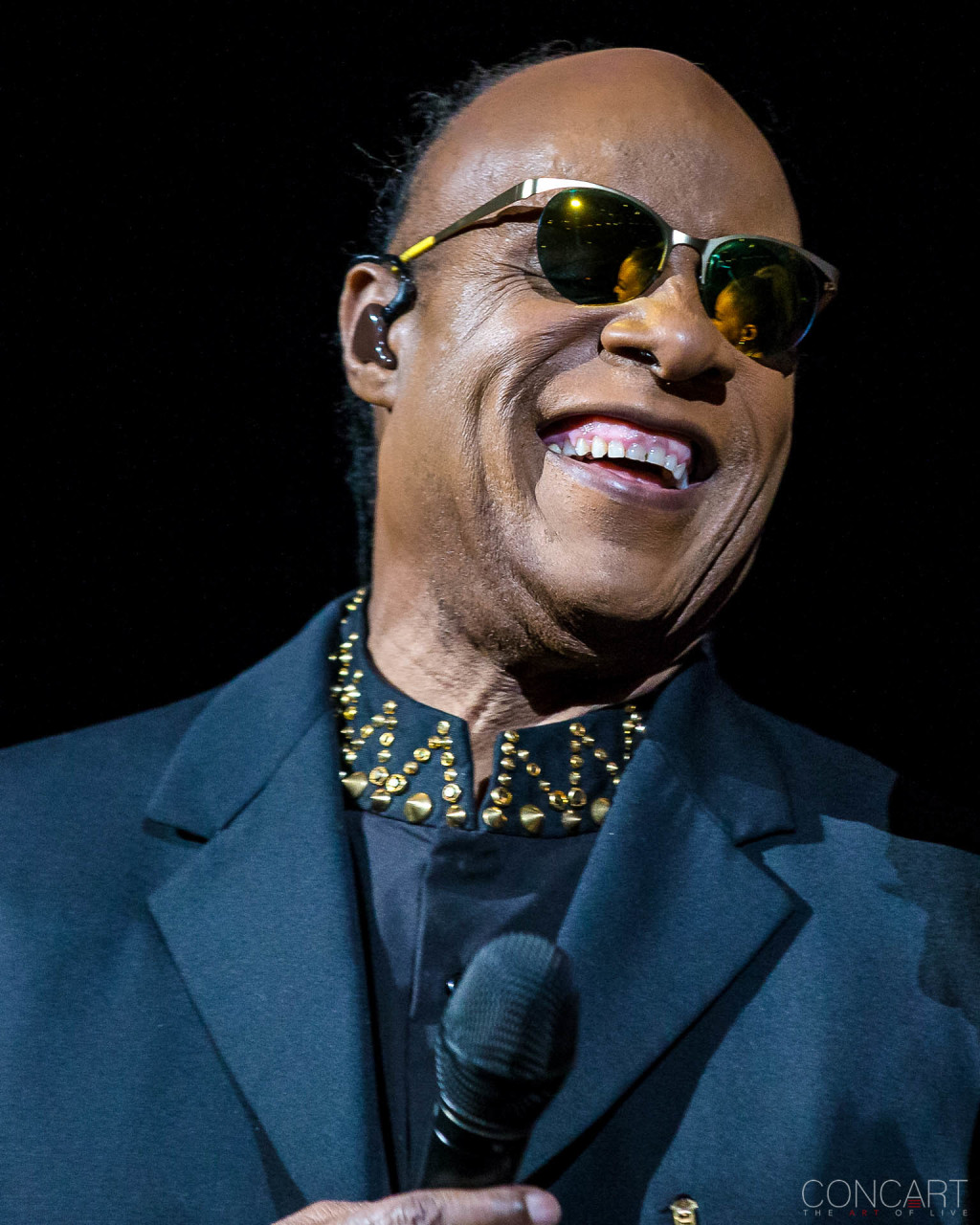 Stevie Wonder photo by Tyson White