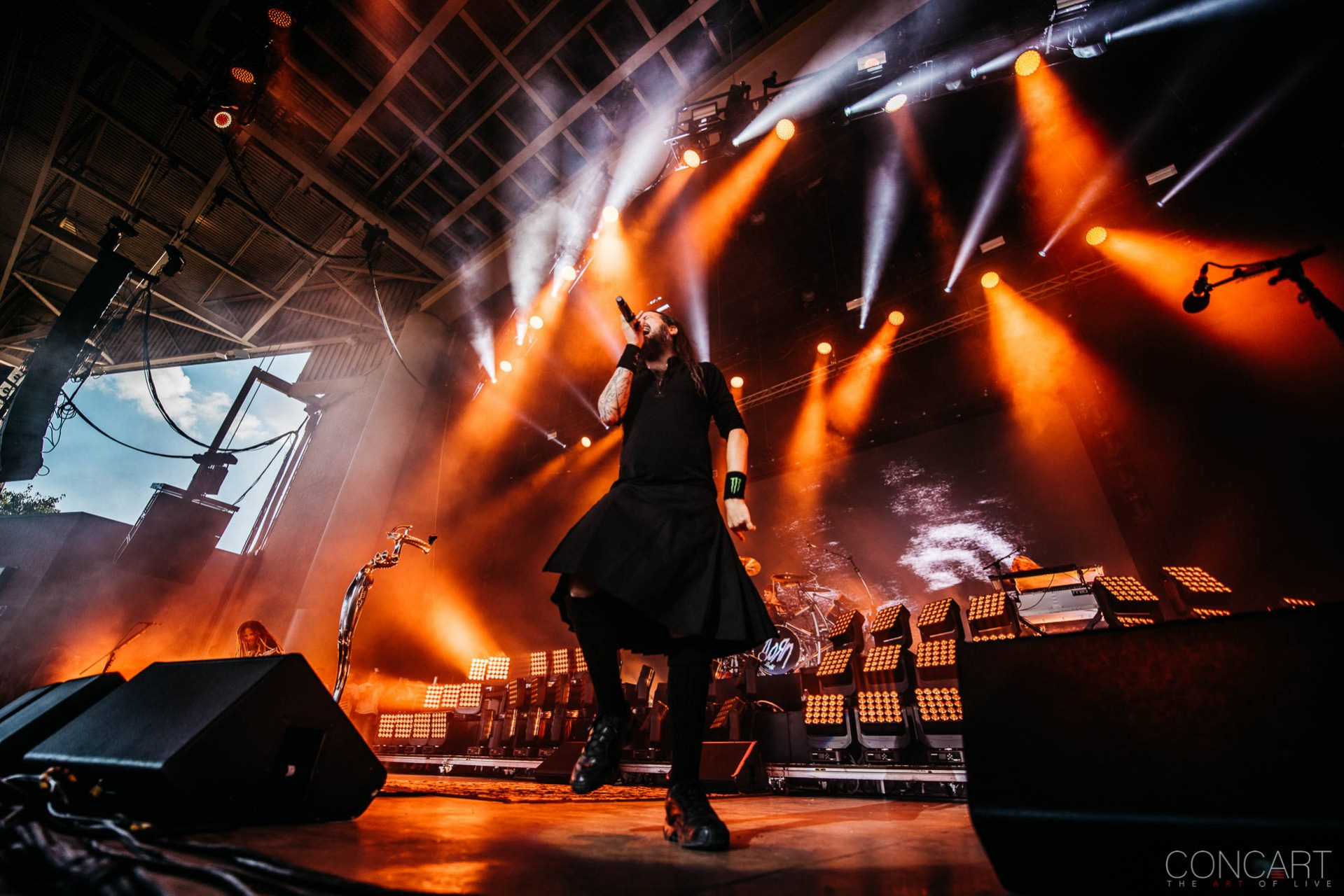Korn photo by Sean Molin