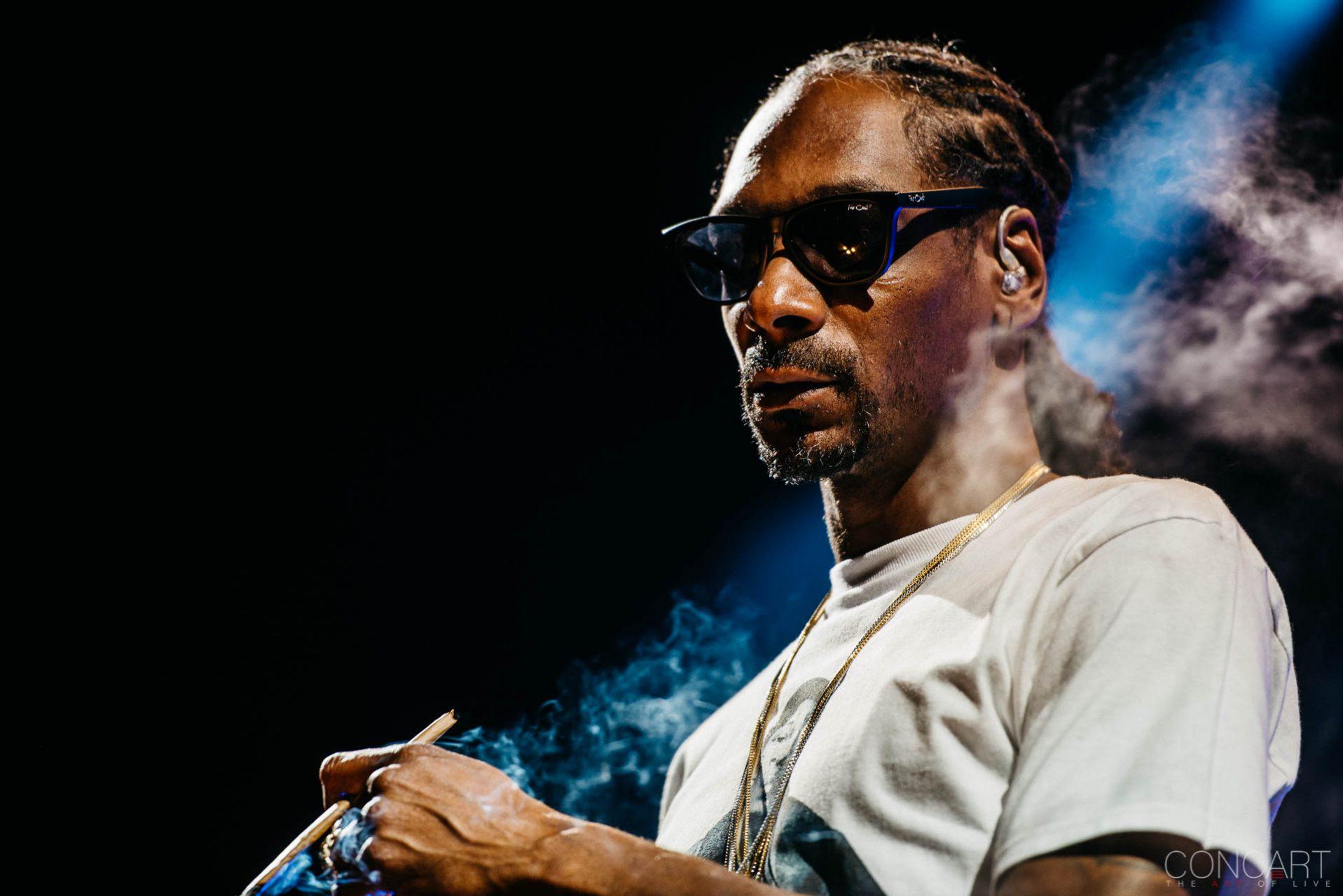 Snoop Dogg photo by Sean Molin