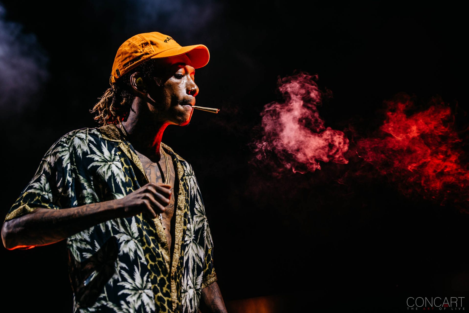 Wiz Khalifa photo by Sean Molin